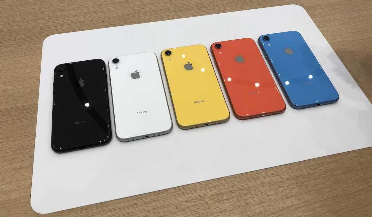 Компания Apple начала продавать через предзаказ iPhone Xr