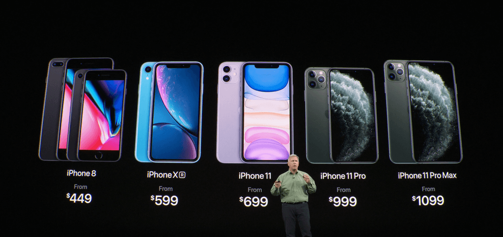Apple показала три новых iPhone: 11, Pro и Pro Max