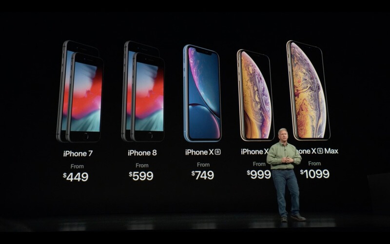 apple iphone prices