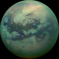 NASA планирует отправить подводную лодку на спутник Сатурна Титан