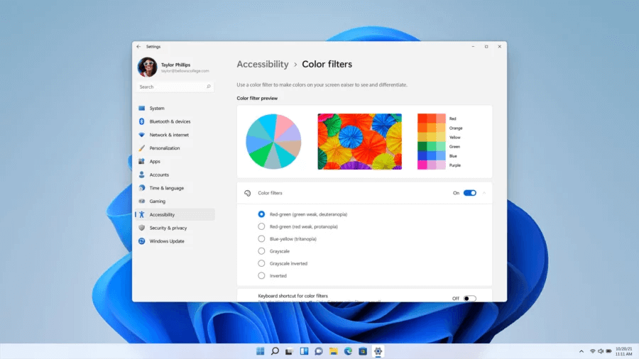 settings in windows 11