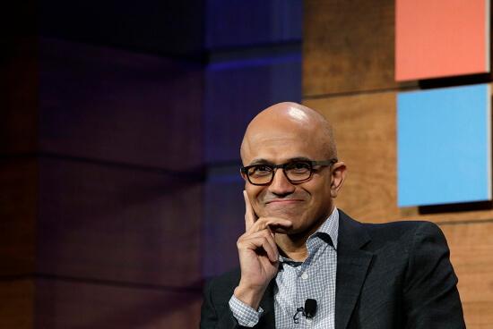 Сатья Наделла, Microsoft