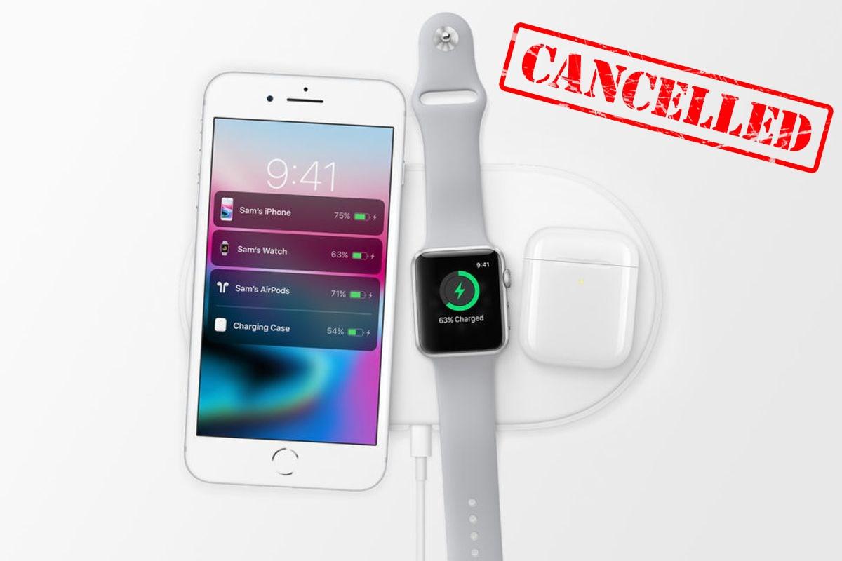 Apple отказалась от производства AirPower